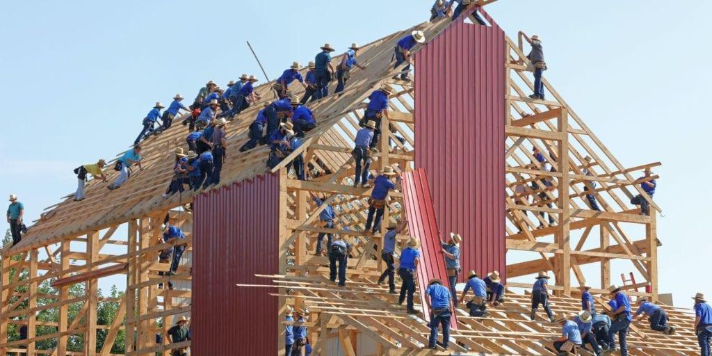 Építkezés generálkivitelezővel.